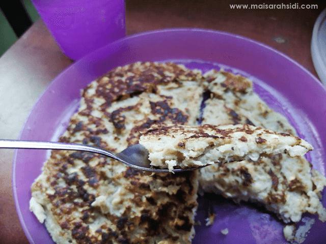 Pancake Pisang Oat Sihat