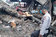Korban Tanah Longsor di Malalayang Satu Barat Ditemukan, Jenazah Dievakuasi ke RS Bhayangkara Manado