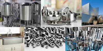 Stainless Steel (Definisi, Karakteristik, Kandungan dan Jenis-jenisnya)