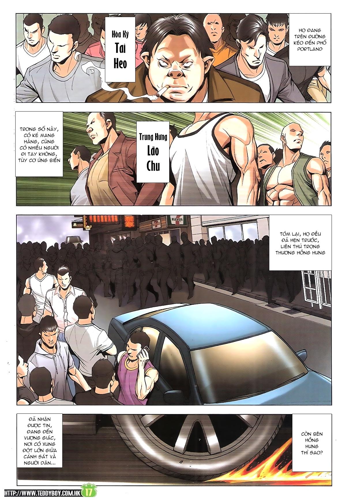 Người Trong Giang Hồ chapter 1912: đại náo lãng hào phường trang 16