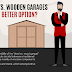 Metal Garages vs. Wooden Garages – Which is The Better Option?  #infographic