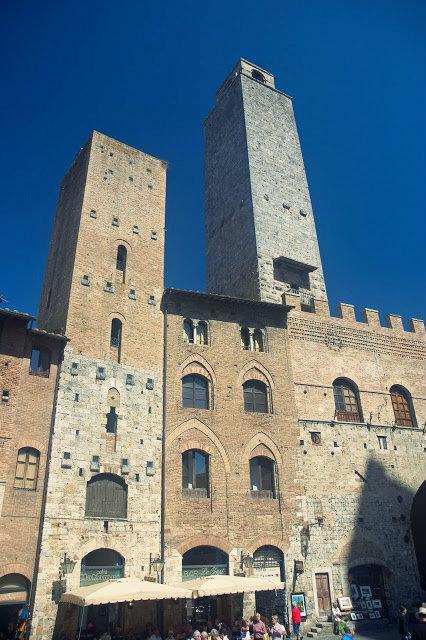 kamienne wieże San Gimignano