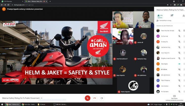 Astra Motor Gelar Edukasi Safety Riding Bersama Pegadaian