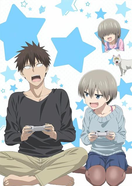 Revelado Novo Visual da Segunda Temporada de Uzaki-chan wa Asobitai!