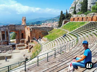 Greek-Roman Theatre, Taormina | Sicily, Italy | wayamaya