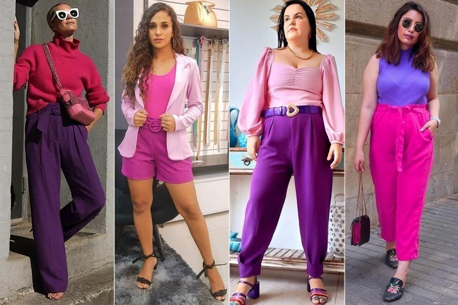 Pensando nisso, vou mostrar combinações de looks com a cor rosa que você pode fazer no seu dia a dia e ficar super estilosa.