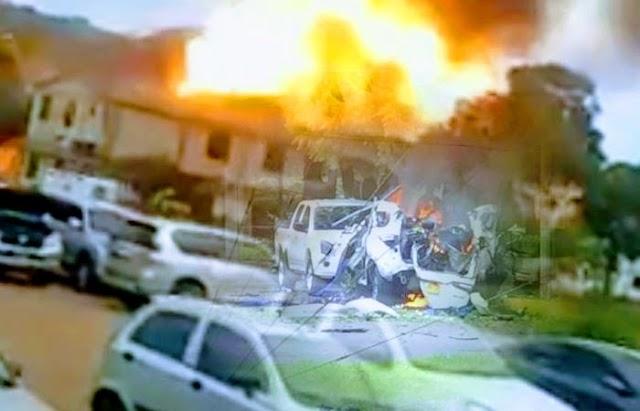 Estalló coche bomba en la Brigada 30 del Ejército de Colombia en la ciudad fronteriza de Cúcuta