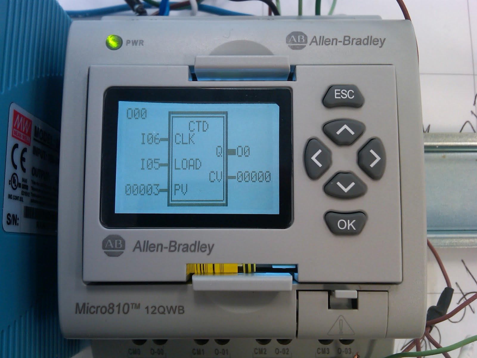 Allen Bradley micro 810 Manual