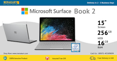 Microsoft Surface Book 2, 15 inch, 256GB, 16GB, i7, NVIDIA® GeForce® GTX 1060