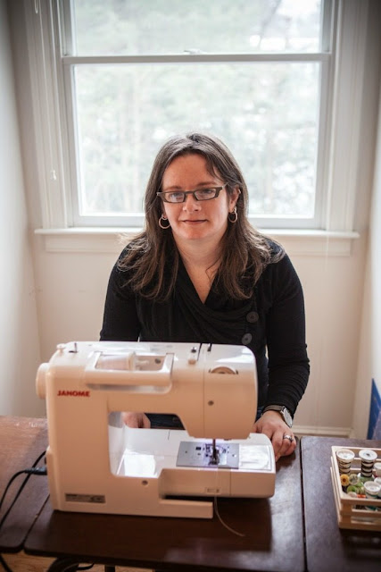 Abby Glassenberg, Interview, Sewing