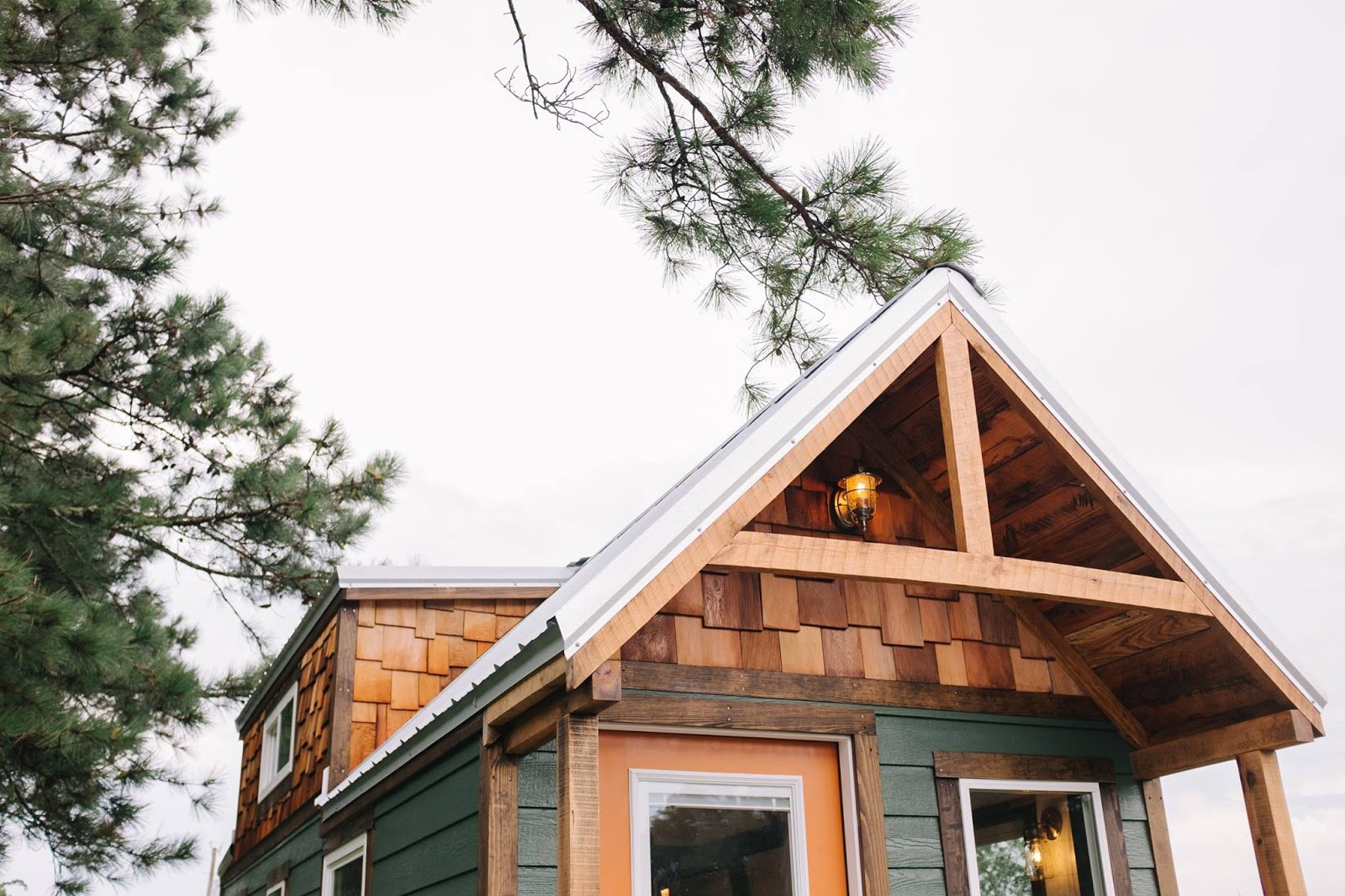 Tiny house town the acadia from wind river tiny homes for Acadia home builders