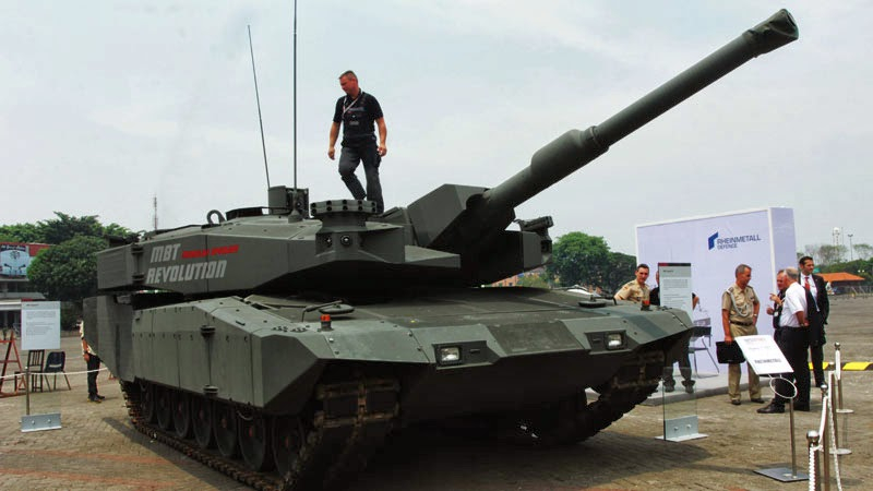 Tank Leopard 2 Revolution Indonesia