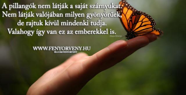 Az emberek olyanok, mint a pillangók
