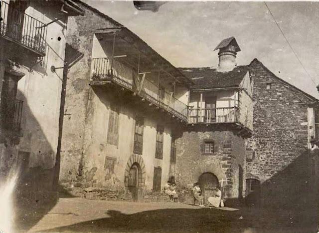 Casa Garcés y Rincón de Pastor, Ansó, Ramón Borra