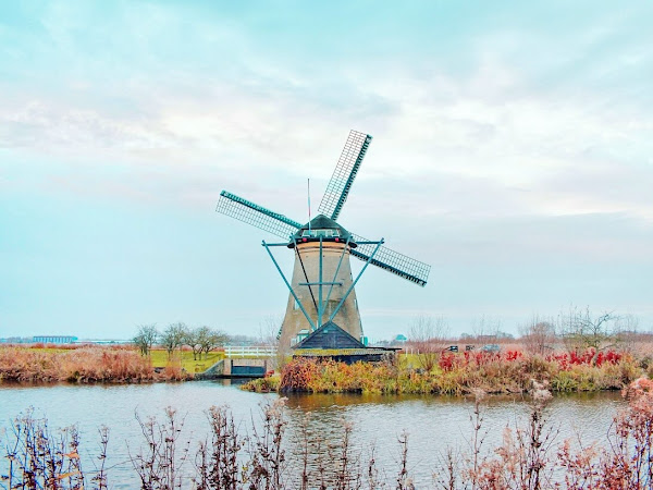 Kinderdijk: Cerita tentang orang-orang pekerja keras