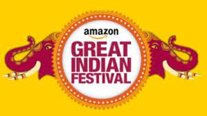 Amazon's greatest deal is the declaration of the Great Indian Festival, with a 70% rebate