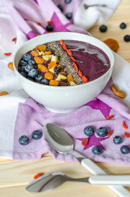 Blueberry Açai Bowl