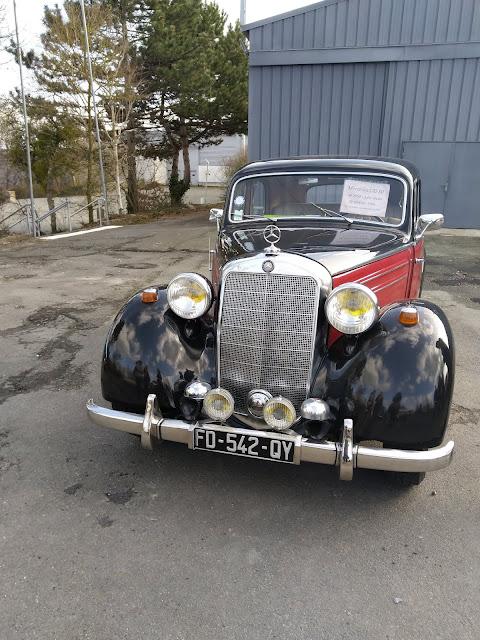 voiture ancienne Mercedes Benz