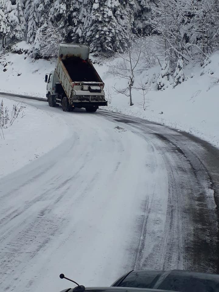 Mudurnu Özel İdare Orman İşletme Kar Temizleme