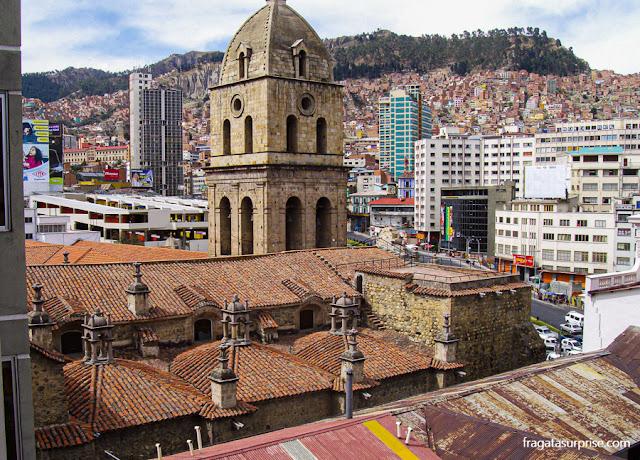 Viajar sozinha para La Paz, Bolívia