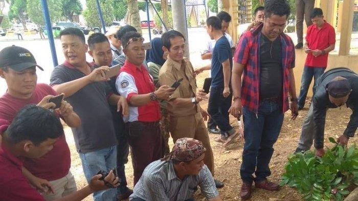 Kronologi OTT KPK Bupati Lampung Utara, Mobil Pajero Putih Disegel