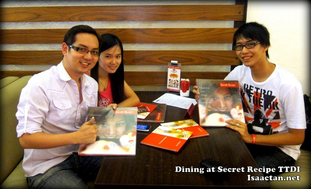 Isaac Tan at Secret Recipe Event