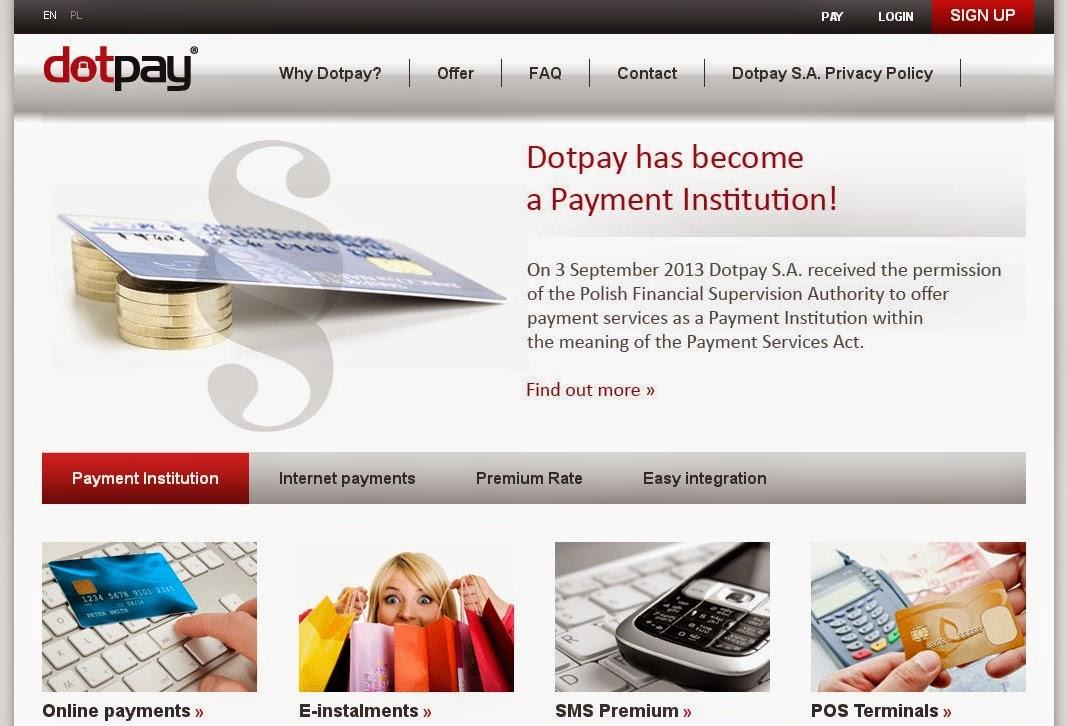 Dotpay Screen