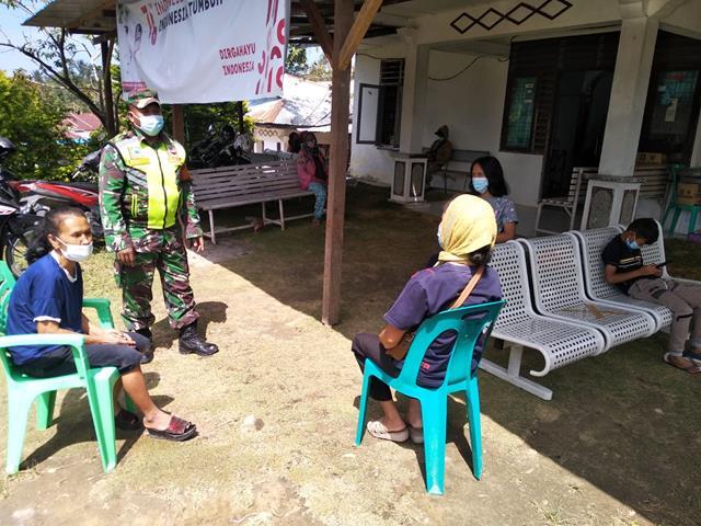 Ops Penegakan Disiplin Protokol Kesehatan Diwilayah Simalungun Diperketat Personel Jajaran Kodim 0207/Simalungun