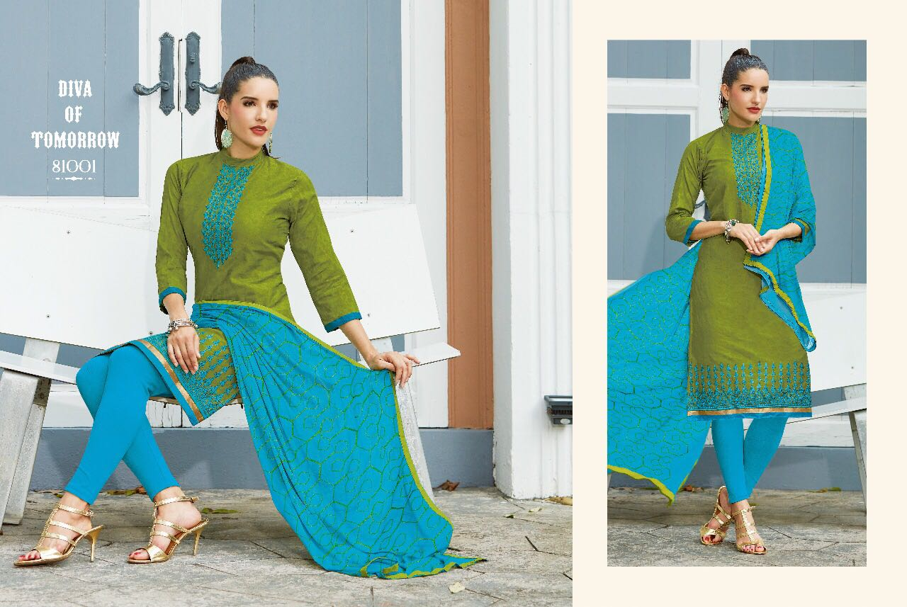 Kavvya-81(Dollar)-New Arrival Mumbai Cotton Dress Material