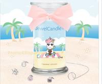 Logo Vinci gratis 1 JewelCandle Hawaiian Unicorn con collana e charm in argento incluso