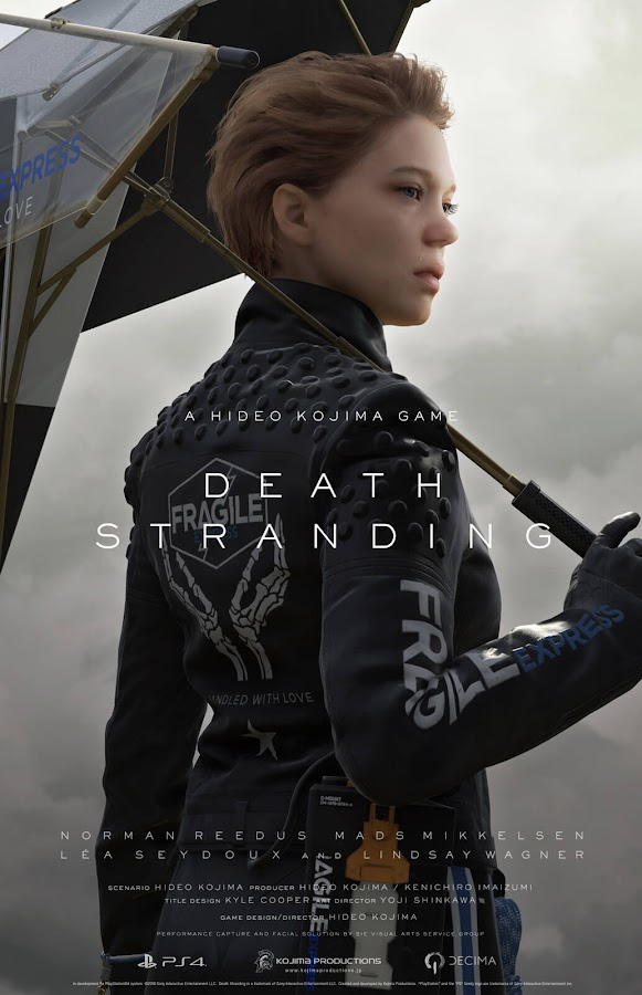 death stranding lea seydoux poster