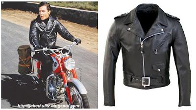 Gambar Jaket Kulit Elvis Presley Motorcycle Jacket