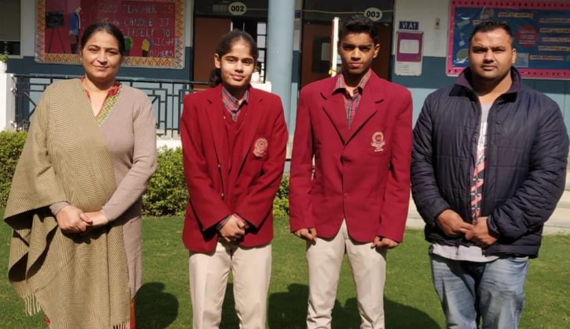 """डीएवी एनटीपीसी स्कूल के बॉक्सर करण सेन और तनीषा लंबा """"खेलो इंडिया गेम्स"""" मैं बरसाएंगे पंच"""