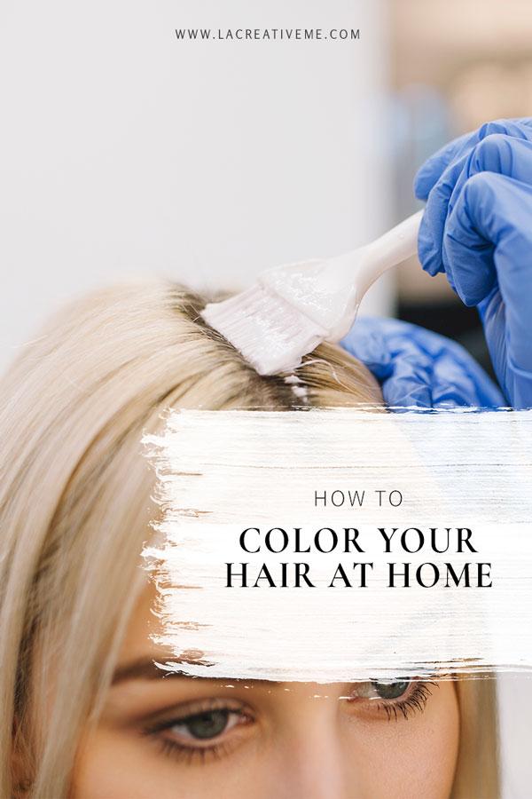 Βαφή μαλλιών στο σπίτι; Κάντο σωστά!