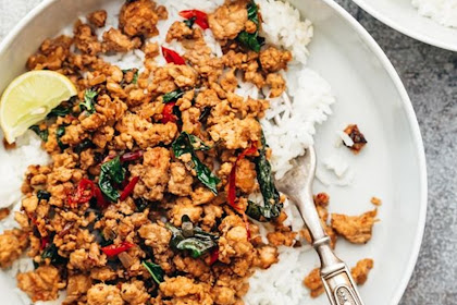 Thai Chilli Basil Chicken