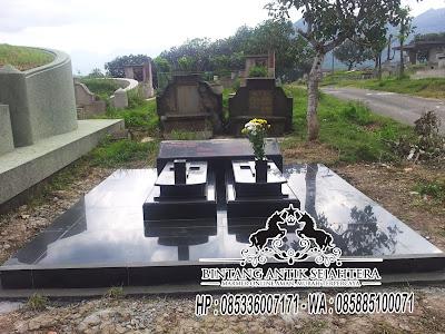 Makam Kembar Kristen, Contoh Makam Kembar, Makam Granit Kristen