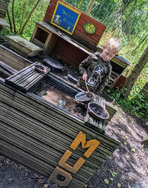 Preston Park mud kitchen