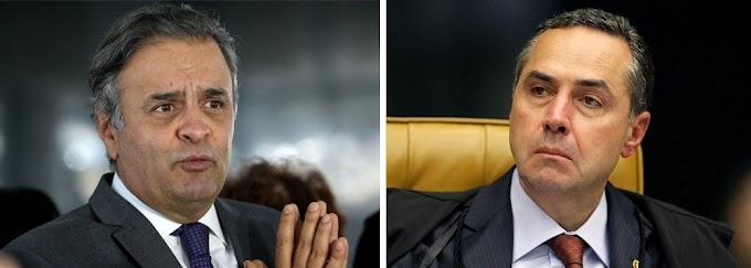 Poucos presos no brasil têm mais provas do que havia no caso Aécio, diz ministro Barroso