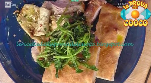 Pizza con la porchetta ricetta Bonci da Prova del Cuoco