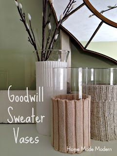 sweater vases