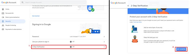 How to Set Up two Step Verification on Google Account and Set Up Google Authenticator App