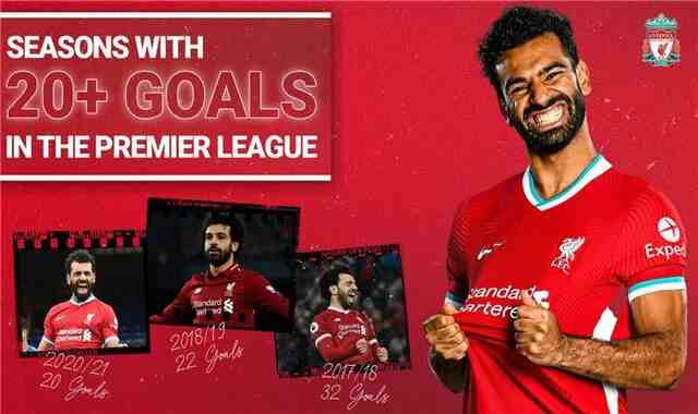 Mohamed Salah achieves a record for Liverpool with his goal against Newcastle