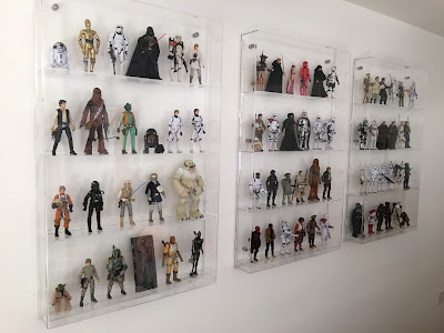 Wall Display Case for Star Wars Figures