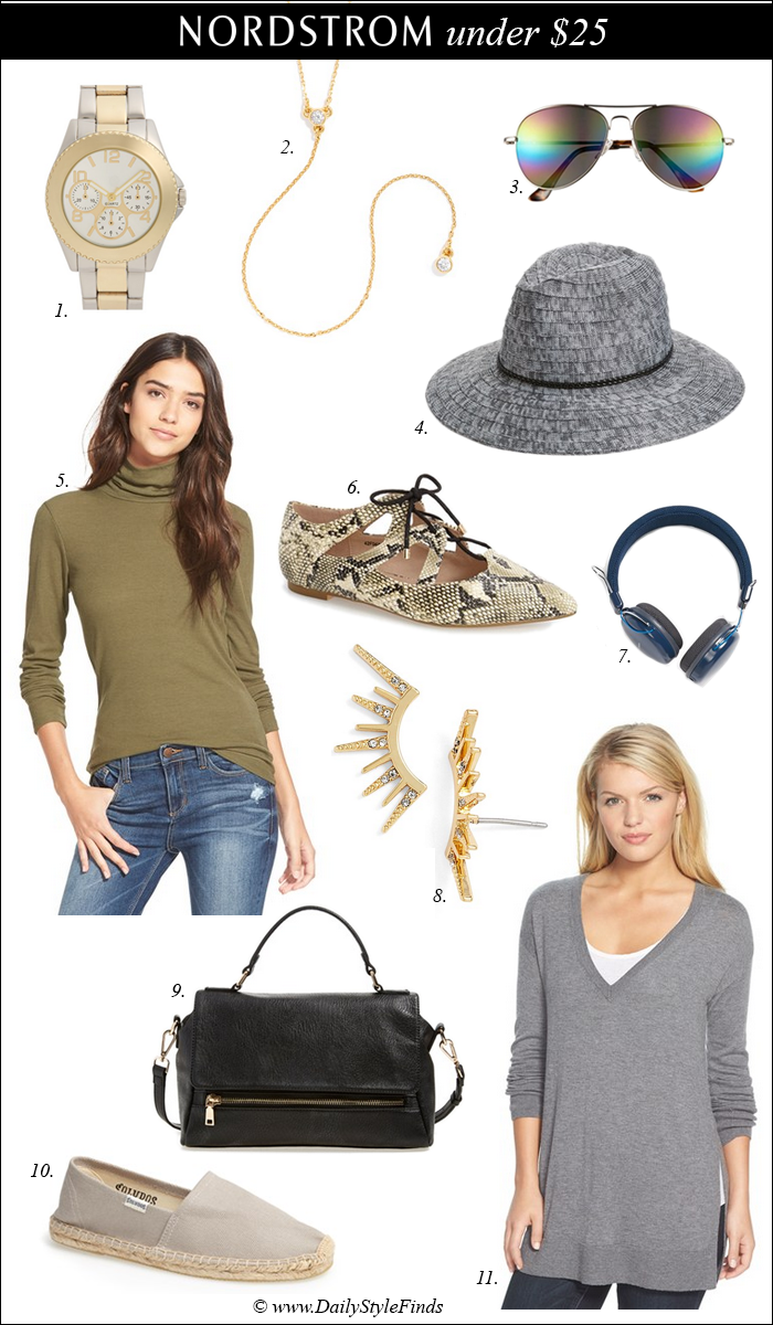 gift ideas, lace up flats, michael kors watch under $25, aviator sunglasses, gifts for college students, budget gifts, gift exchange gift ideas