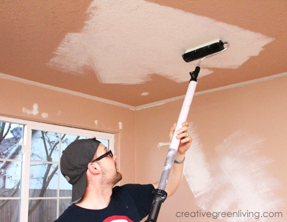 How to paint a ceiling - the best ceiling painting tools for the easiest way to paint a ceiling
