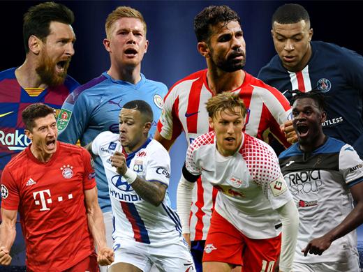 Trước tứ kết Champions League: Coi chừng địa chấn
