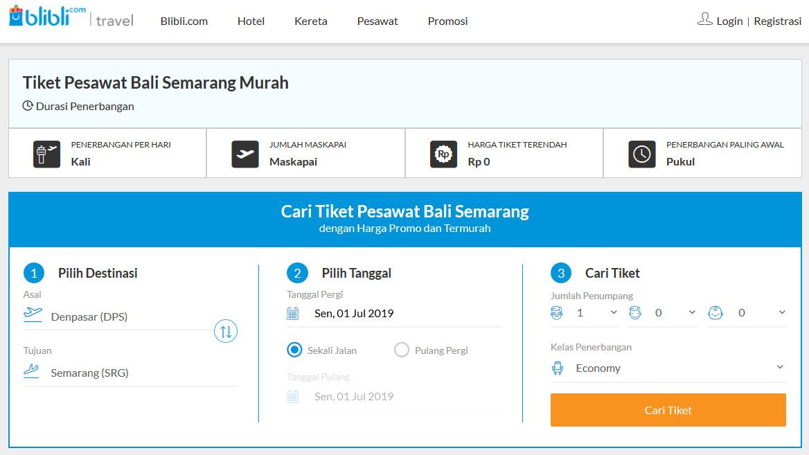 Chainerose Com Jual Tiket Pesawat Bali Semarang Semua Maskapai