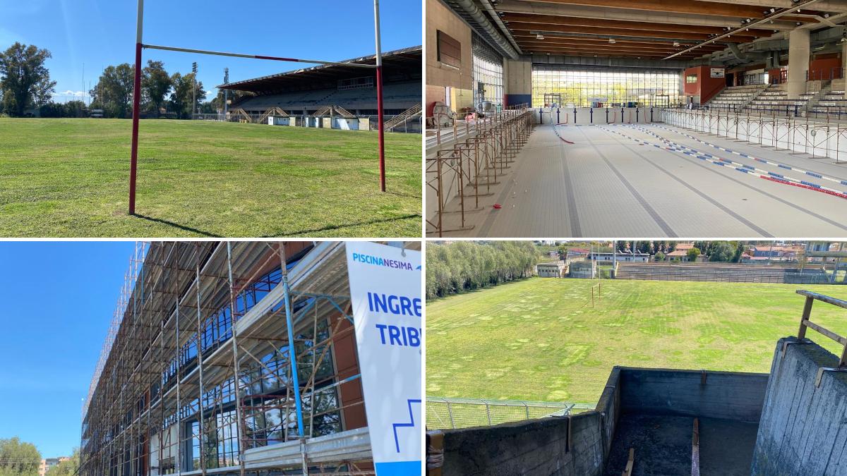 Riqualificazione campo di Rugby Santa Maria Goretti Piscina di Nesima