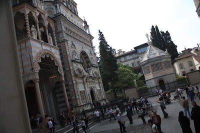 Colleoni chapel in Bergamo