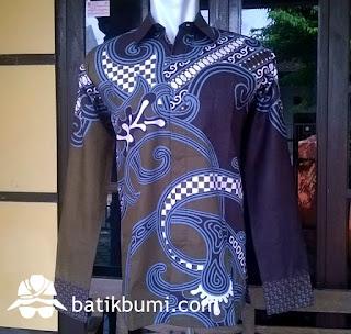 batik solo kemeja batik